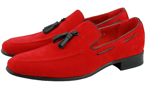 cf7929d0ed0 Men s can try loafers in red colored collection and patterns