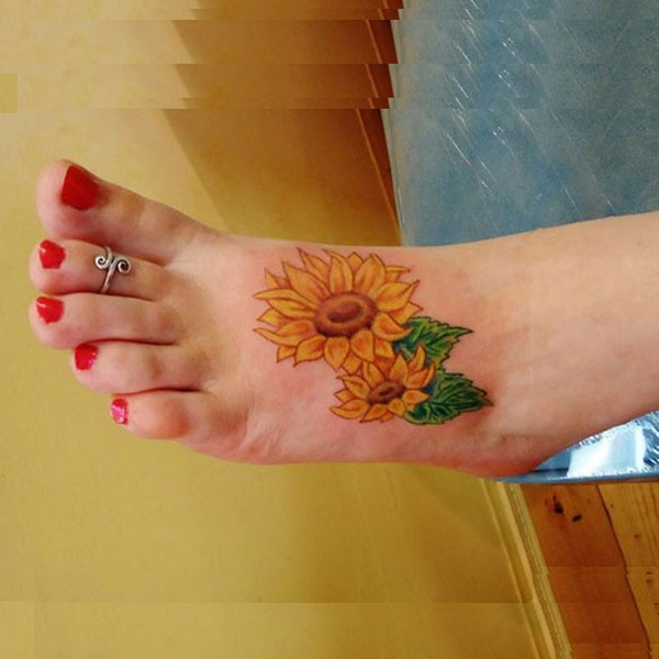 Sunflower Tattoo Designs With Meanings