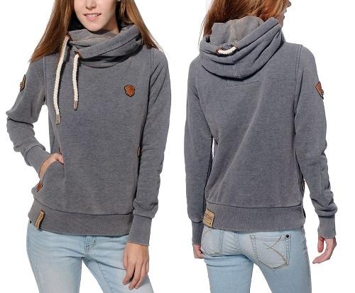 Sweatshirt-Style Women's Sweater