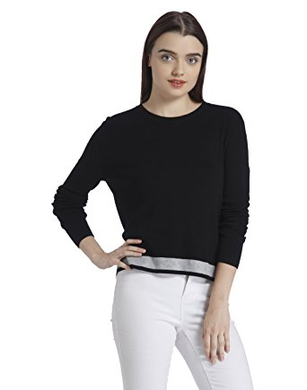 Synthetic Pullover Sweater for Women