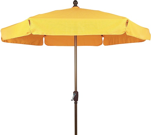 Textilene Fabric Garden Umbrellas