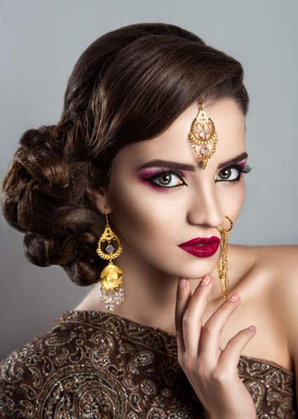 The Indian Wedding Hairdo