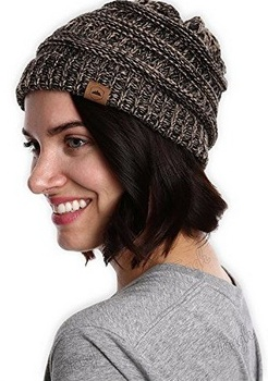 Thick Soft Knitted Beanie Hats