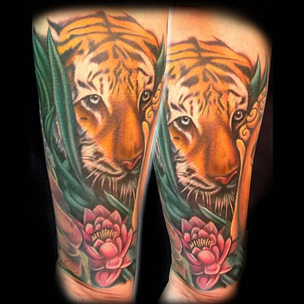 Tiger Tattoo Designs And Meanings With Images