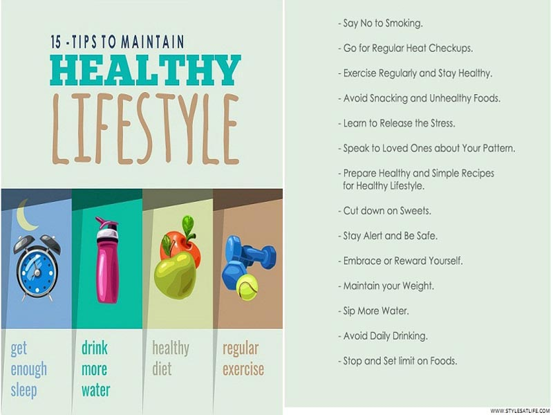 Tips To Improving and Maintaining a Healthy Lifestyle