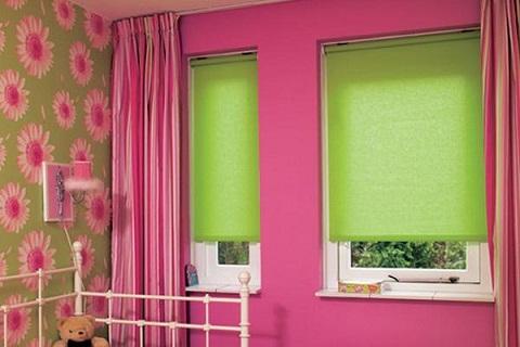 Toddler Room Curtain Design
