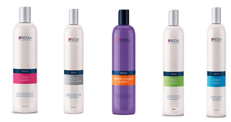 Indola Shampoos