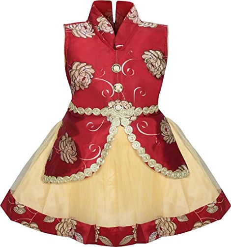 1f8e32d249af 50 New And Unique Baby Frock Designs With Images For 2018 | Styles ...