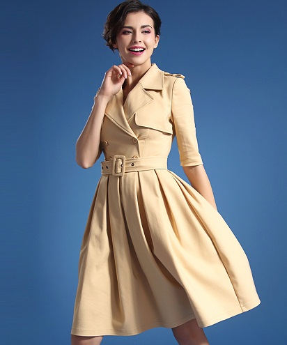 Trench Frock
