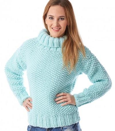 Turtleneck Women's Sweater