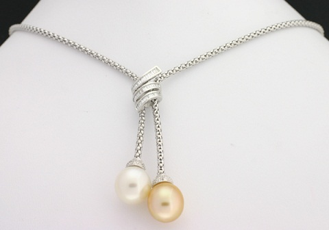 Twin Pearl Necklace