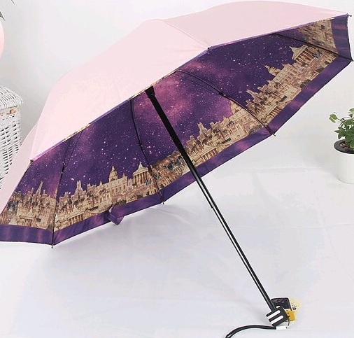 UV Protected Folding Umbrellas