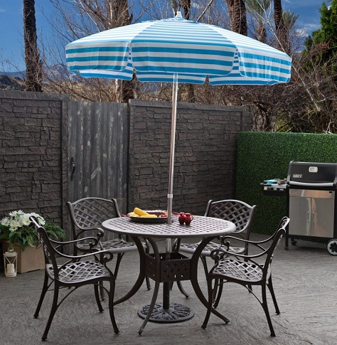 Unique Umbrellas with Patio Table