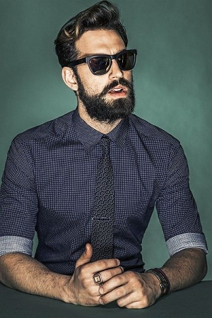 Urban Style Beard for Men