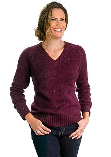 V neck Women's Sweater