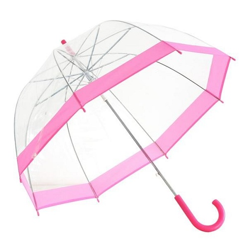 Vision Clear Dome Fancy Umbrella