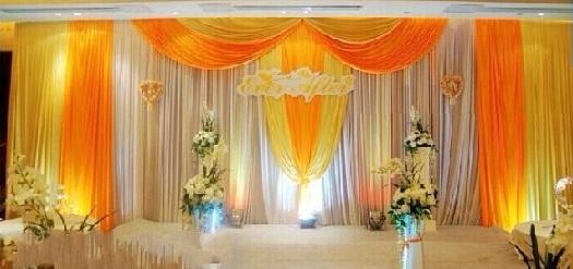 Wedding Backdrop Curtain Design