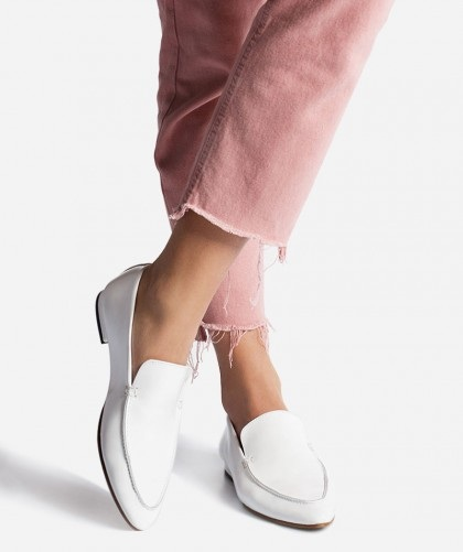 15 Best and Beautiful White Loafers for