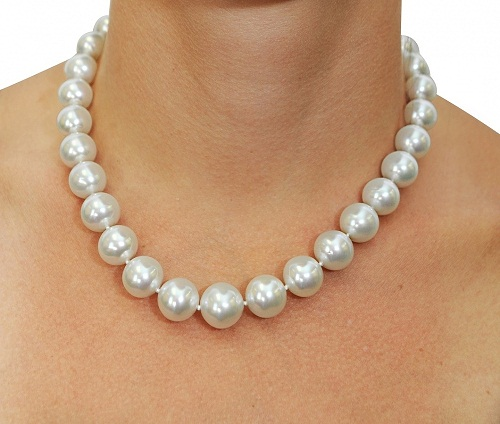White South Sea Necklace