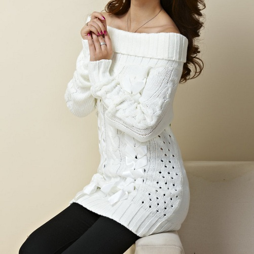 Women's Off The Shoulder Sweater