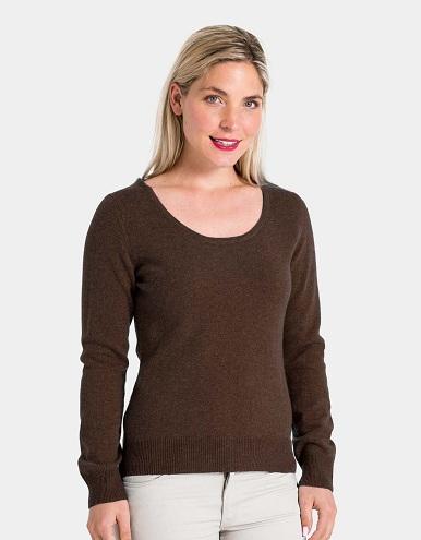 Women's Scoop Neck Sweater