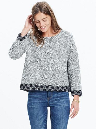 Women's Both Sides Reversible Sweater