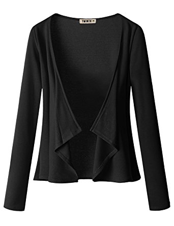 Women's Long Sleeve Jersey Cardigan