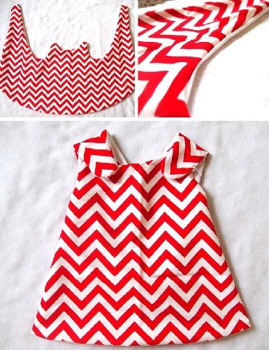 Wrap Around Pinafore Dress