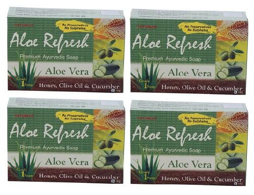 Yeturu's Aloe Refresh Premium Soap
