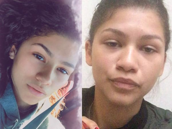 Zendaya without Makeup 2