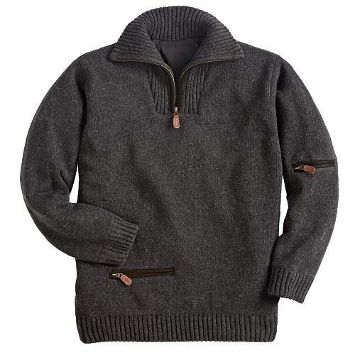 Zip Pullover Sweater