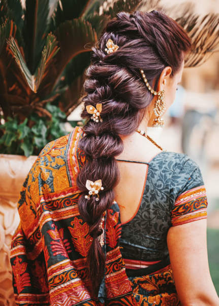 15 Charming Indian Wedding Reception Hairstyles Styles At Life