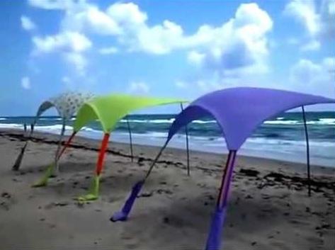 Sturdy Windproof Beach Umbrella