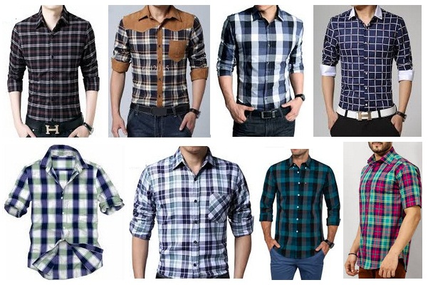 eefb8e3c In check shirt also you will find a variety of checks that you must have  seen but still unknown about it. Check shirt displays your relaxed mood.