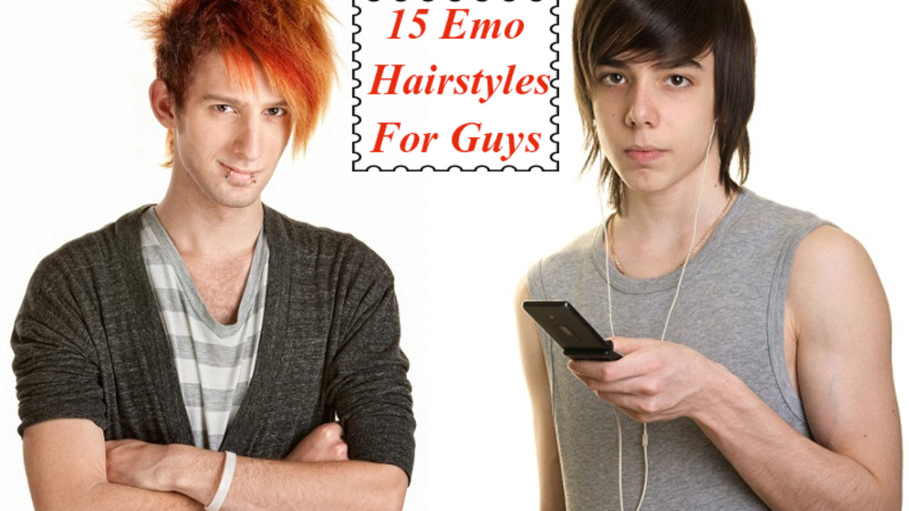 15 Emo Hairstyles For Guys That Will Make You Look Dashing
