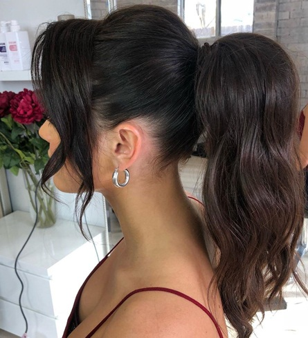 Perfect Elevated Ponytail
