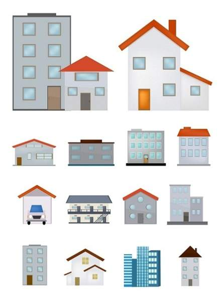 types of houses in india