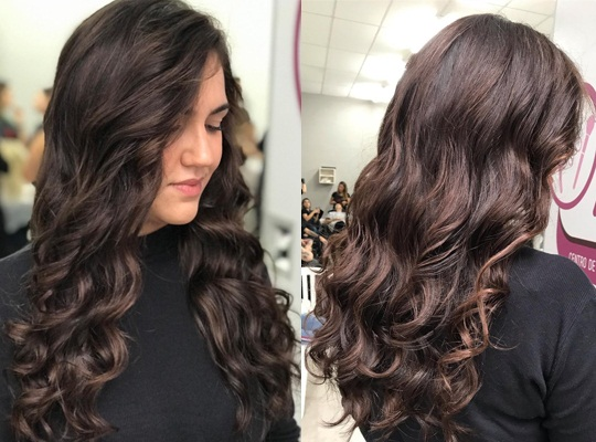 Open Messy Hairstyle