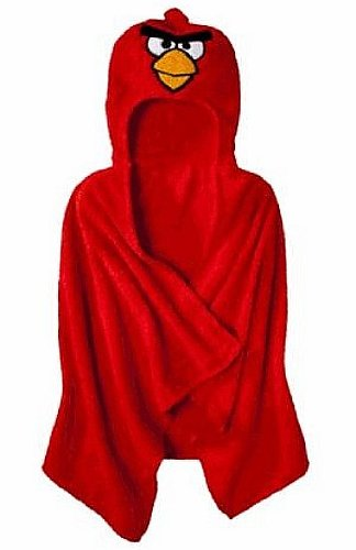 Red Hooded Towel