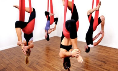 aerial yoga techniques  styles at life