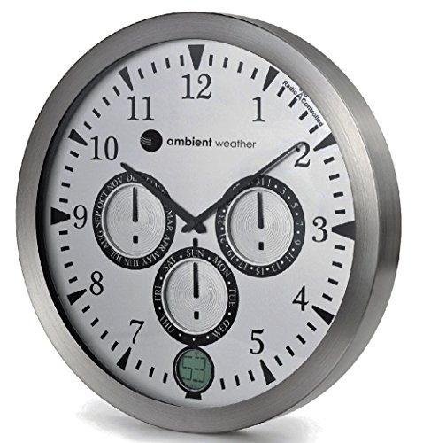 Ambient Weather Modern Wall Clock