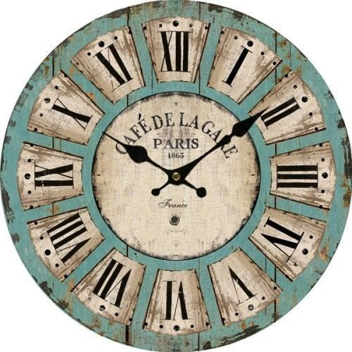 Antique Wooden Clock
