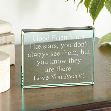 Any Message Glass Blocks Birthday Gifts