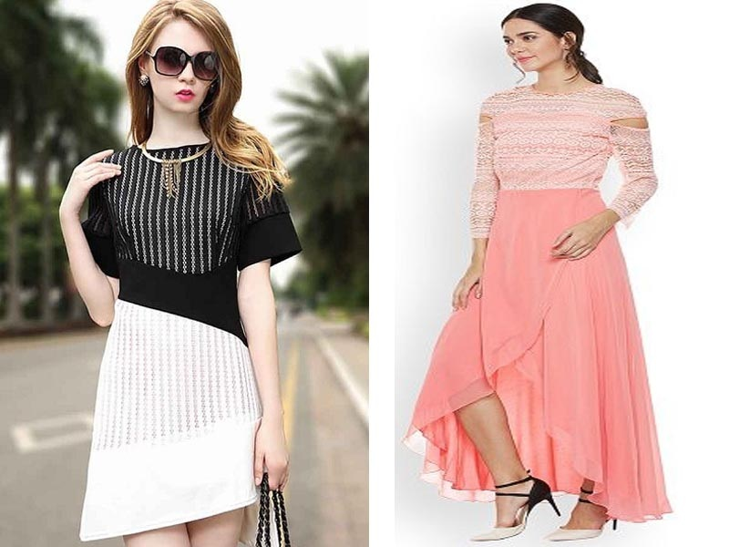 Asymmetric Dress Designs for Women in Trend