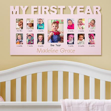 Baby's First 12- Month Frame