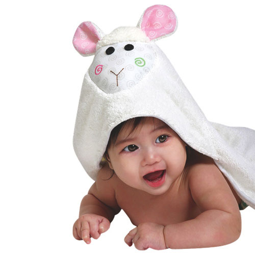 Baby Bath Animated Towels