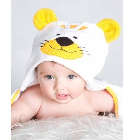 Baby white Bath Towel