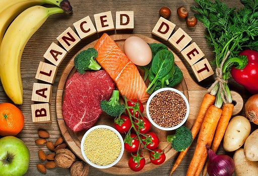 Balanced Diet for Wrinkles on Hands