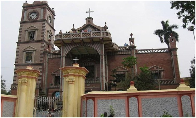 Basilica of Holy Rosary Church in Hooghly
