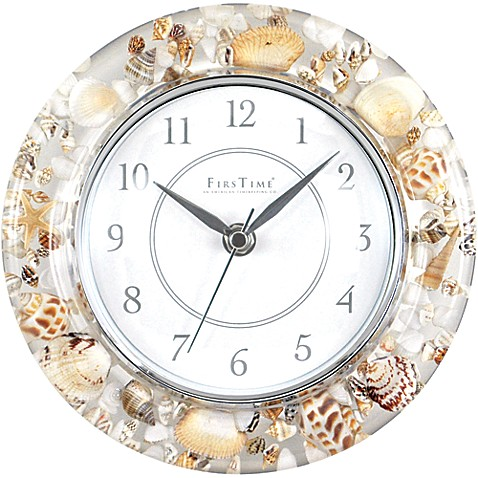Beautiful Sands of Time Wall Clock